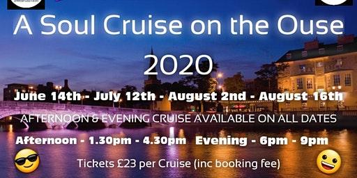 Soul Cruise on The Ouse Afternoon 14th June