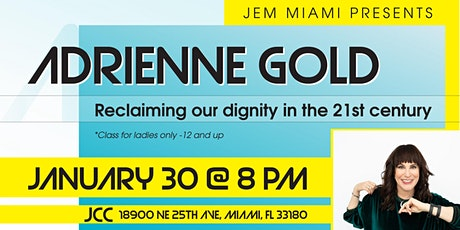 Reclaiming our dignity in the 21st Century. tickets