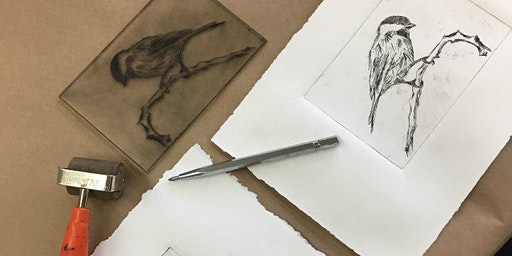 Drypoint and Chine Collé