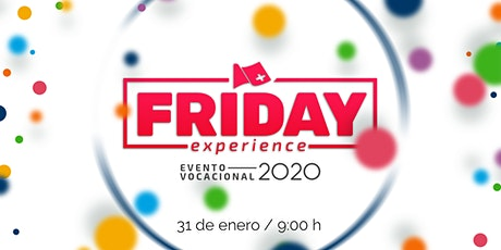 FRIDAY EXPERIENCE ISU UNIVERISDAD - ENERO 2020 boletos