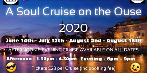 Soul Cruise On The Ouse Afternoon 16th August