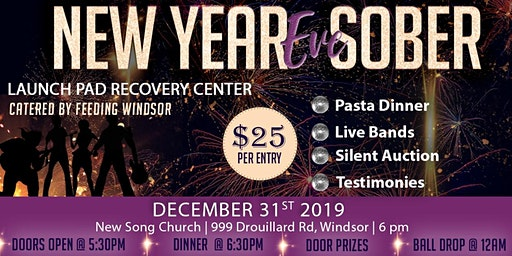 New Year's Eve Sober Party 2020