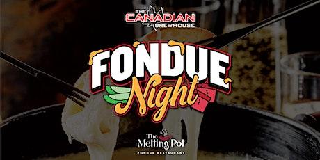 Calgary Harvest Hills Fondue Night! tickets