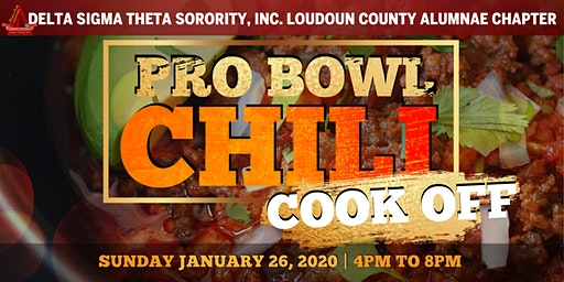 2020 Pro Bowl Chili Cook Off