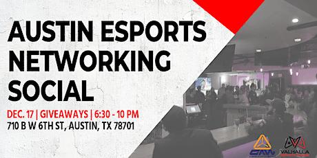 Austin Esports Networking Social tickets