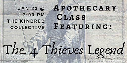 Apothecary DIY: 4 Thieves Legend