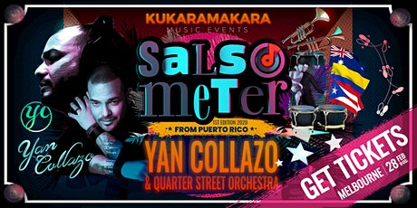 Yan Collazo Live Concert - Salsometer First Edition tickets