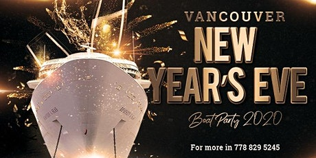 Vancouver New Year's Eve Boat Party 2020 tickets