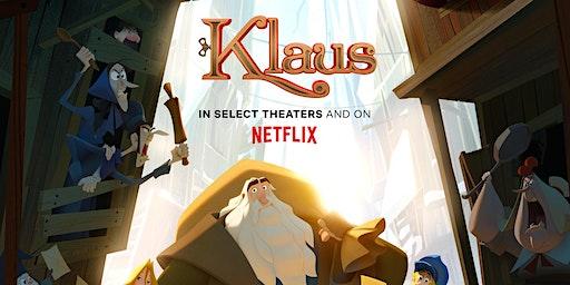CAPE/Netflix FREE Screening: KLAUS