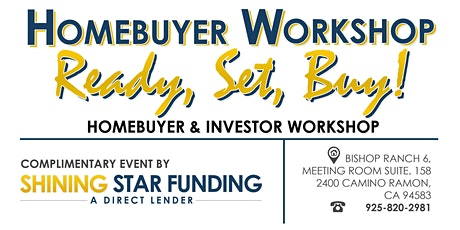 Home Buyers Training Workshop: For First Time Buyers and Current Homeowners tickets