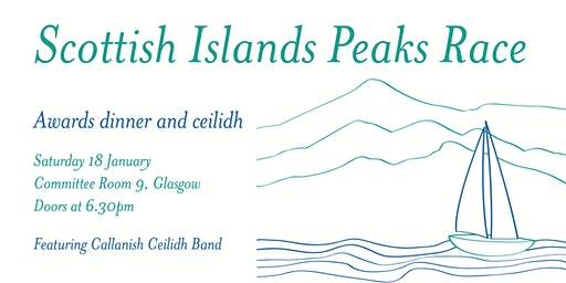 Scottish Islands Peaks Race awards dinner and ceilidh