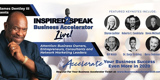 Inspired2Speak Business Accelerator Live! - Business Growth Workshop