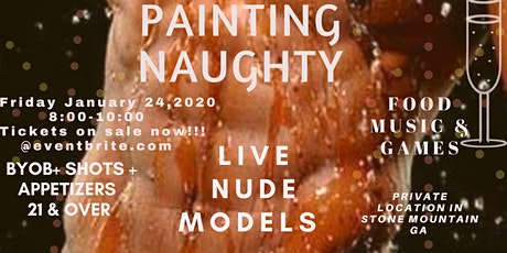 Painting Naughty tickets