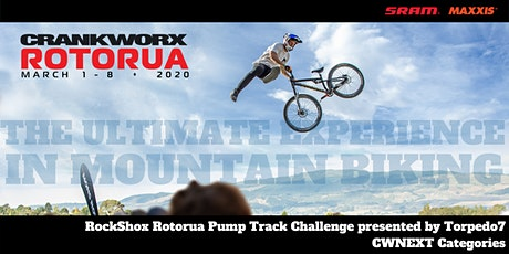 Rockshox Rotorua Pump Track Challenge presented by Torpedo7 - CWNEXT tickets