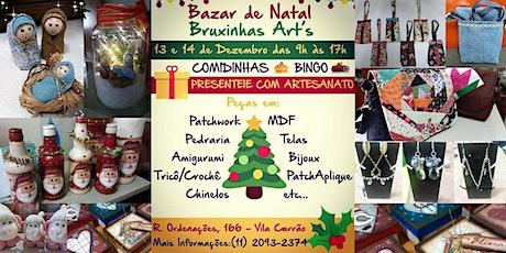 Bazar De Natal - Bruxinhas Artes ingressos