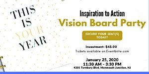 Inspiration to Action Vision Board Party