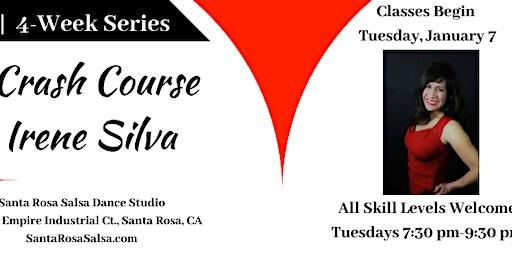 Salsa Crash Course with Irene - January 2020 4-Wk Series