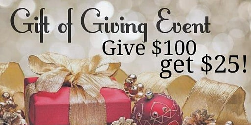 Gift of Giving Event