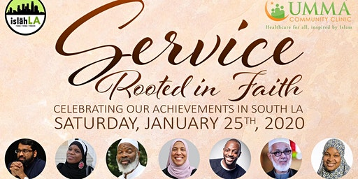 Service Rooted in Faith Benefit Gala