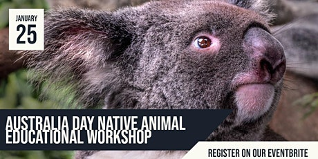 Cooinda Cafe Australia Day Native Animal Display tickets