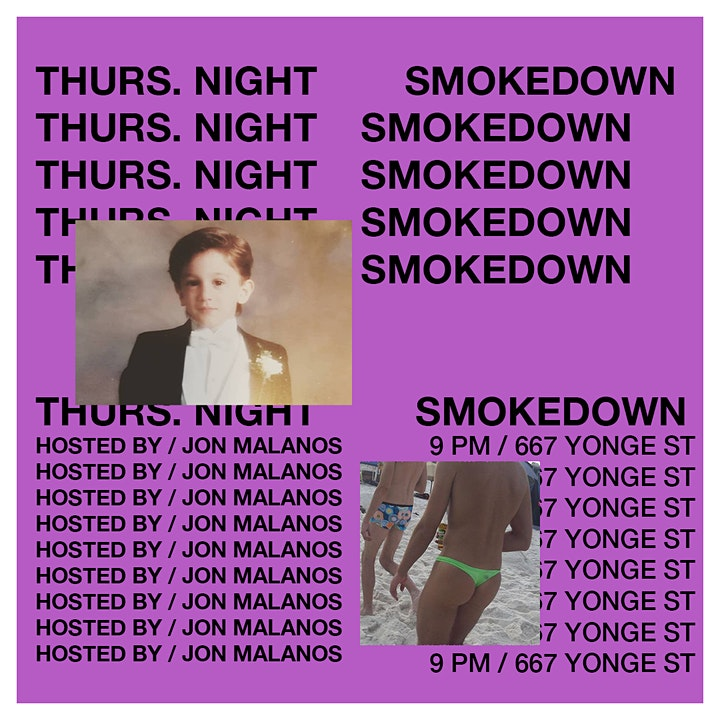 Thursday Night Smokedown: 420-Friendly Comedy Show image