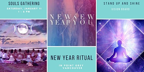 New Year Ritual - Vision Board & Reconnect to yourself tickets