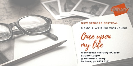 Once Upon My Life: Memoir Writing Workshop tickets