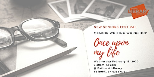 Once Upon My Life: Memoir Writing Workshop