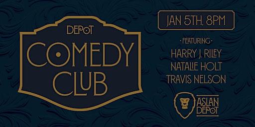 Depot Comedy Club: January Edition