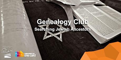 Genealogy Club: Searching Jewish Ancestors [POSTPONED] tickets