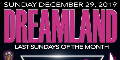Frankie Sharp's DREAMLAND - DOMINIQUE JACKSON w/ DJ Mazurbate  SUN 12/29/19 tickets