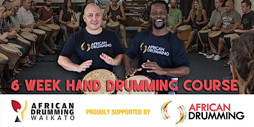 6 week African Hand Drumming Course