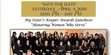 My Sister's Keeper Award & Scholarship Luncheon tickets