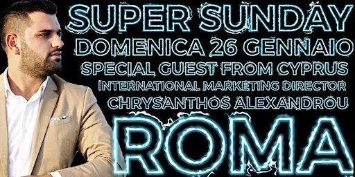 Super Sunday Chrysanthos EDITION 26 Gennaio