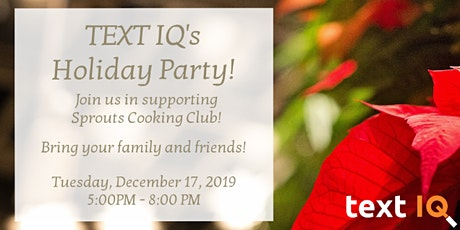 Text IQ Holiday Party tickets