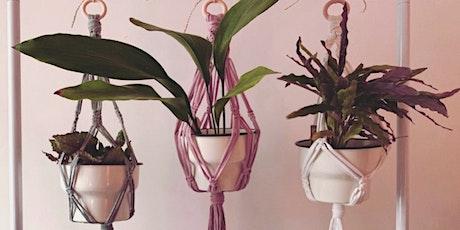 Macrame Plant Hanger Workshop @LOAF Bakehouse tickets