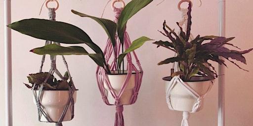 Macrame Plant Hanger Workshop @LOAF Bakehouse