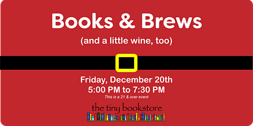 Books and Brews: Holiday Shopping with Beer and Wine