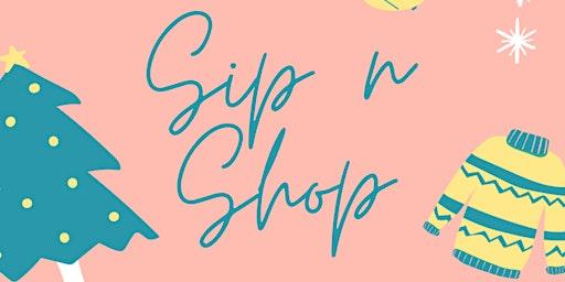 Holiday Sip N' Shop