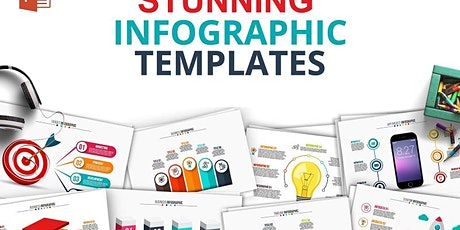 Simple Way to Create Stunning Infographics using PowerPoint tickets