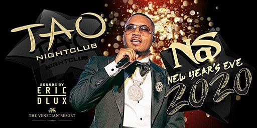 Nas at TAO Las Vegas ... NEW YEARS EVE PARTY!!