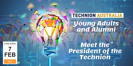 Exclusive! Young adults and Alumni breakfast with the President of the Technion tickets