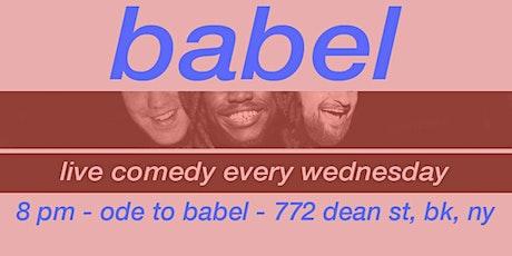 babel tickets