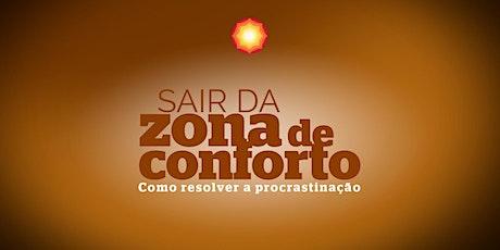 SAIR DA ZONA DE CONFORTO com Fanny Van Laere/ Cabreúva-SP/ Brasil ingressos