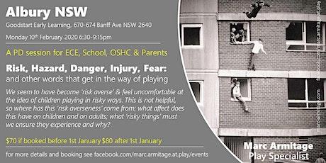 Risky Dodgy Dangerous Play - in Albury/Wodonga tickets