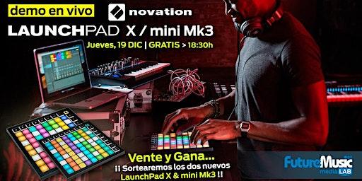 LaunchPad X y mini Mk3 | FutureMusic media[LAB] Madrid | JV, 19 DIC, 18:30h - gratis