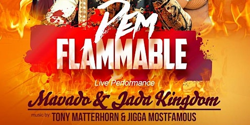 Dem flammable Mavado alongside Jada Kingdom