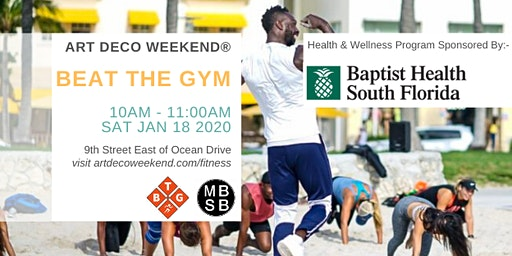 Beat the Gym @ Art Deco Weekend  2020