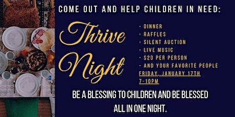 Thrive Night tickets