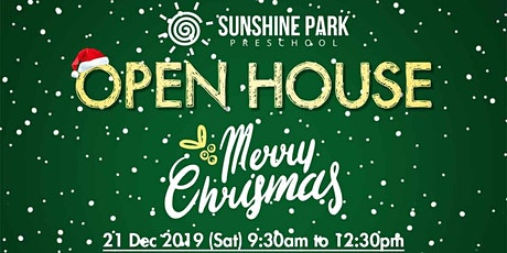 'Merry Christmas!' Open House at Sunshine Park! tickets